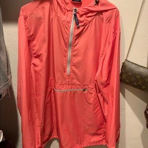 Women's XL Charles River rain jacket pink